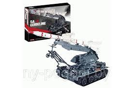 <b>Конструктор</b> Танк <b>Xingbao ракетная установка</b> SA-2 , 1623 дет ...