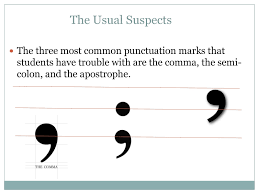writing center workshops punctuation click here to see the oatmeal s how to use a semicolon