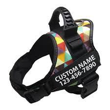 Lifetime Warranty <b>Personalized NO</b> PULL <b>Dog Harness</b> – New Bark ...