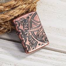 <b>Зажигалка ZIPPO Armor™ с</b> покрытием Antique Copper™, латунь ...