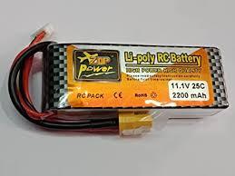 <b>Zop Power</b> Lipo Battery <b>11.1v 2200mAh</b> 25C.3S: Amazon.in ...