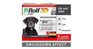 <b>Rolf Club 3D</b> FLEA Collar for Dogs - Flea and Tick Prevention for ...