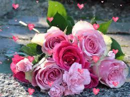 """Résultat de recherche d'images pour """"gifs les roses roses"""""""