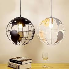 modern globe pendant lights blackwhite color pendant lamps for barrestaurant hollow ball black pendant lighting