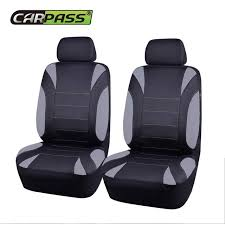Online Shop <b>Car</b>-<b>pass</b> Brand Universal Car Seat Cover 2 Front Seat ...
