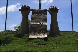 Resultado de imagen para foto del \monumento del 14 de junio