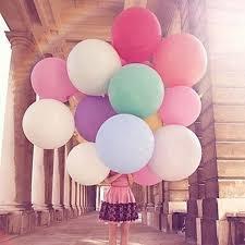 "1PC Hot Sale Colorful 36"" <b>Giant Big Balloon 36 inch</b> Latex Birthday ..."