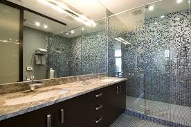 bathroom contemporary with glass tile design ideas trendy tiles bathroom lights bathroom ideas bathroom decor designs pictures trendy