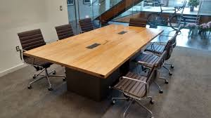 reclaimed wood and steel industrial conference table awesome custom reclaimed wood office desk