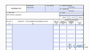 learn how to fill the dd 1750 form packing list
