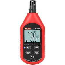 <b>UNI</b>-<b>T</b> UT333BT Bluetooth Цифровой LCD Термометр <b>Гигрометр</b> ...