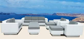 white outdoor furniture  white resin wicker patio furniture white rattan patio furniture amazi