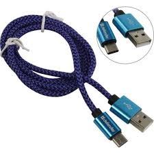 кабель mobiledata type c usb2 0 черный