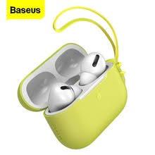 Роскошный силиконовый <b>чехол Baseus</b> для Airpods Pro ...