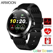 <b>Smart Watch</b> Pria W8 ECG PPG Heart Rate Bracelet Sleep Monitor ...