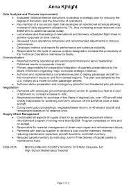combination resume example  project manager for airlinecombination resume sample project manager airlines pg