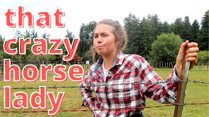 That <b>CRAZY Horse Lady</b> - YouTube
