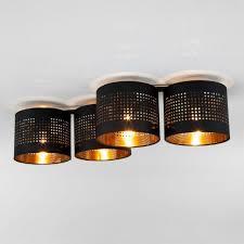 <b>Потолочная люстра TK Lighting</b> 852 Tago Black купить в ...