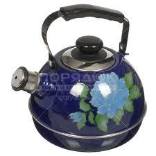 <b>Чайник эмалированный</b> Рубин Ростов С2126 со свистком, <b>3.5 л</b> ...
