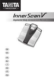 Инструкция <b>Tanita BC</b>-<b>545N</b> InnerScan V (84 страницы)