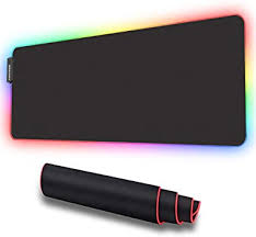 LUXCOMS RGB Soft Gaming Mouse Pad Large ... - Amazon.com