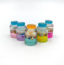 <b>5pcs</b> Drink Bottle <b>Slime DIY</b> 1.2'' LPS Accessories Figure Gift Littlest ...