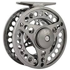 <b>Goture</b> Fly Fishing Reel Waterproof 2+1BB <b>5/6 7/8</b> 9/10 Aluminum ...
