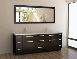 element contemporary bathroom vanity set: design element moscony double  inch espresso modern bathroom vanity set