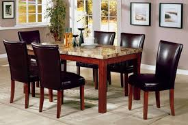 Marble Top Kitchen Table Set Choosing The Right Dining Room Tables Amaza Design