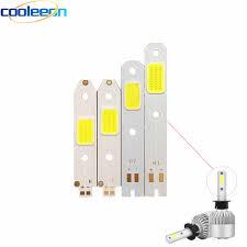 4pcs/<b>lot</b> S2 <b>Car</b> Headlight COB Chip LED Light Source for DIY S2 ...