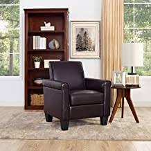 faux leather armchair - Amazon.com