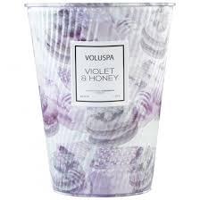VOLUSPA <b>АРОМАТИЧЕСКИЕ СВЕЧИ</b> Фиалки и мед / <b>Violet</b> ...