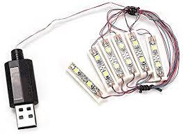 Woyisisi ABS <b>Universal DIY LED</b> Light USB Charging Shining ...
