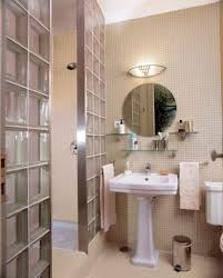 bathroom mirrors round
