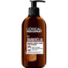 <b>Очищающий гель</b> 3в1 для бороды + лица + волос, с маслом ...