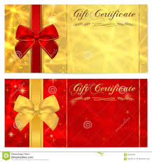 gift certificate gift card coupon template stock photography gift certificate voucher coupon invitation or gift card template sparkling twinkling