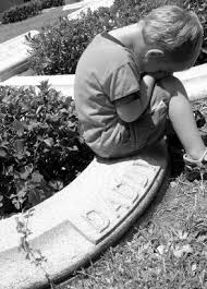 153551-294x408-Little-boy-at-his-dads-grave.jpg via Relatably.com