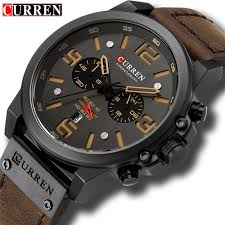 CURREN <b>Top Luxury Brand</b> Men's <b>Military</b> Waterproof – The Courier ...