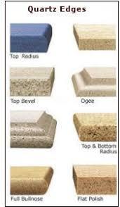 countertops popular options today: corian countertop edges engineered quartz countertop edges in phoenix