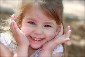 Image result for smiling three year old girl face
