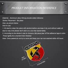 <b>Car Styling Metal Emblem</b> Badge Door Decal Auto Accessories for ...