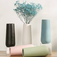 Buy One Piece Vase <b>Modern Simple Nordic Style</b> Solid Color ...