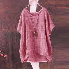 Womens <b>Summer</b> Shirt Plus Size,Moginp Bat Short Sleeve T-Shirt ...