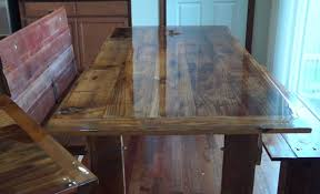 recycled barn wood tables dining table