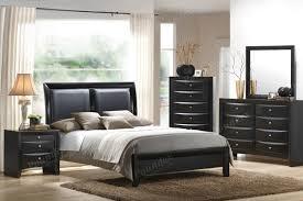 poundex brilliant grey wood bedroom furniture set home