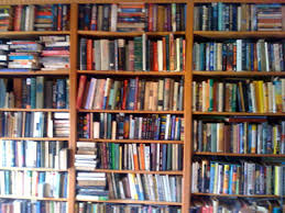 Image result for pictures of bookshelves