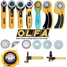 Olfa <b>Rotary Cutter</b> 18mm, <b>28mm</b>, <b>45mm</b> & Compass Cutter + ...