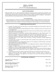 warehouse logistics resume sample logistics resume aviation resum warehouse logistics resume sample