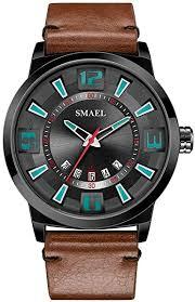Gleamfut Men's Simple Geometric Quartz Watch ... - Amazon.com