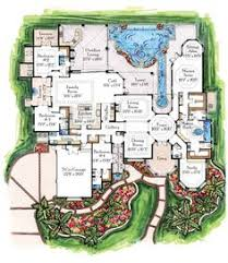 ideas about Luxury Home Plans on Pinterest   Home Plans    Breathtaking Luxury Contemporary Tropical Home Floor Plans Design